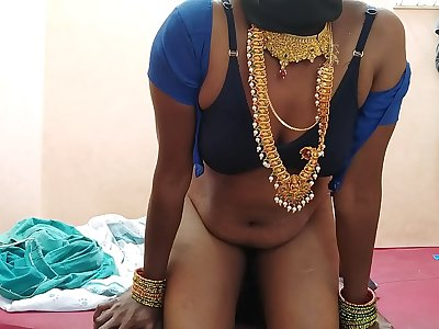 Indian wife hard pummel with young hubby