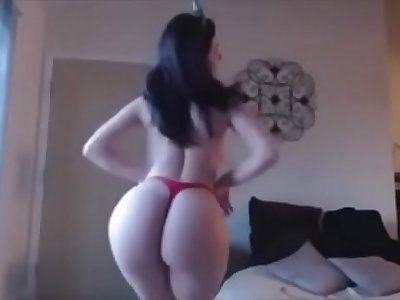 Indian beautiful nymph naked dance on live cam with big butt and big boobs