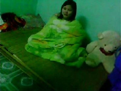 Indian Napali youthful beau gf Couple in bedroom - Wowmoyback