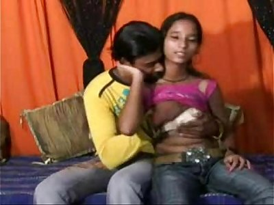 Indian Teen With Small Boobs Having Hard Anal Romp